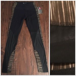 NWT Bally Total Fitness Athletic Leggings Size S